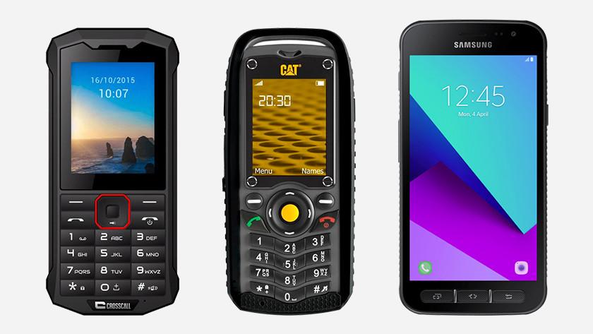 Wat is een rugged telefoon