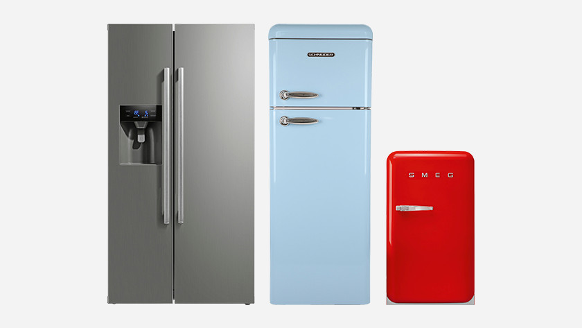 Freestanding fridge models