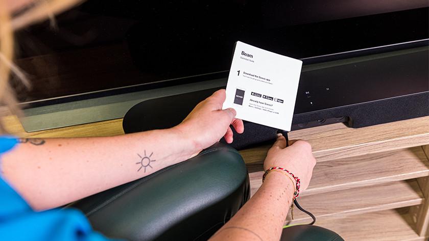 Sonos Beam installatie