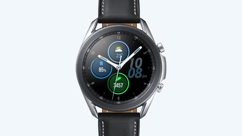 Samsung Galaxy Watch3 zilver, ECG, bloeddrukmeter