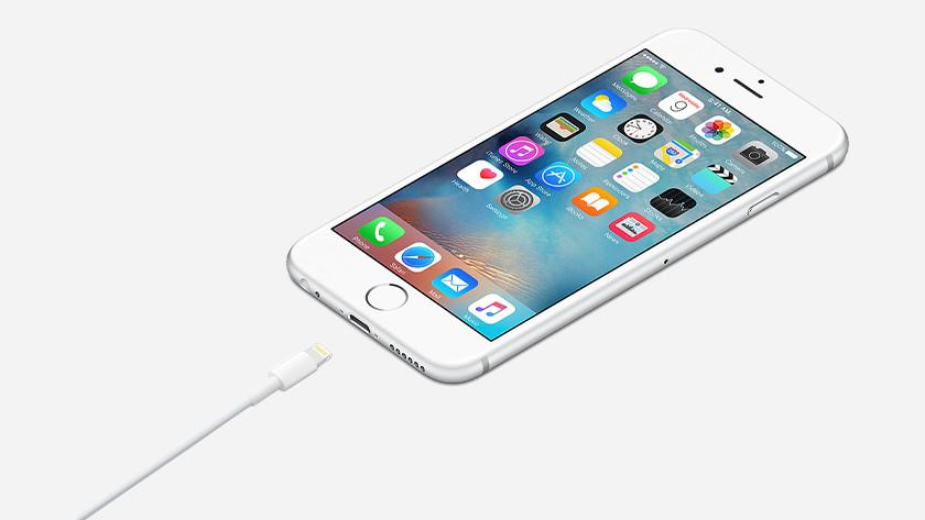 Apple apparaten met Lightning poort
