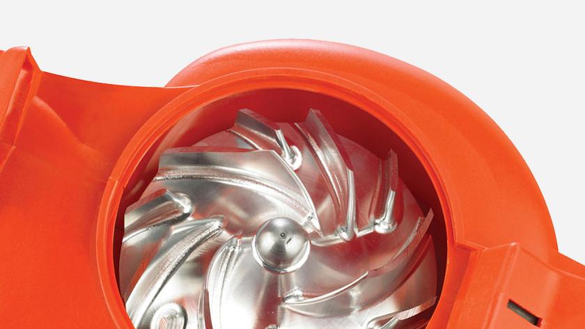 Rotor bladblazer