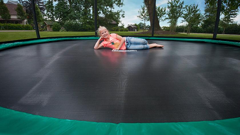 Nettoyer un trampoline