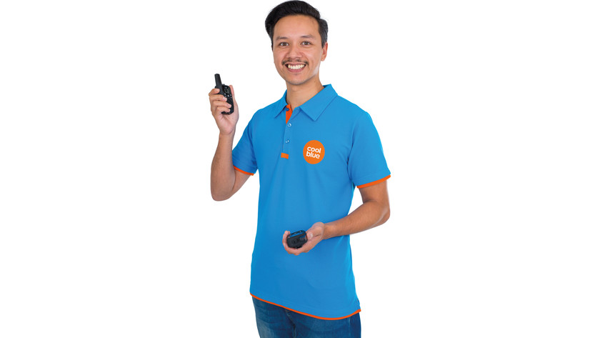 Productspecialist walkie talkies