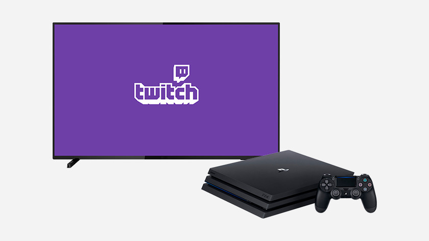 Twitch on your PS4