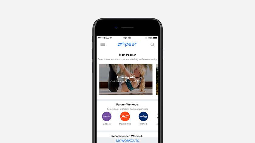 BackBeat Fit smartphone app