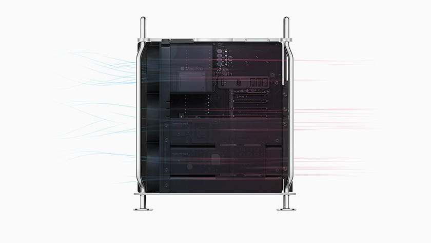 Inside Apple Mac Pro 2019