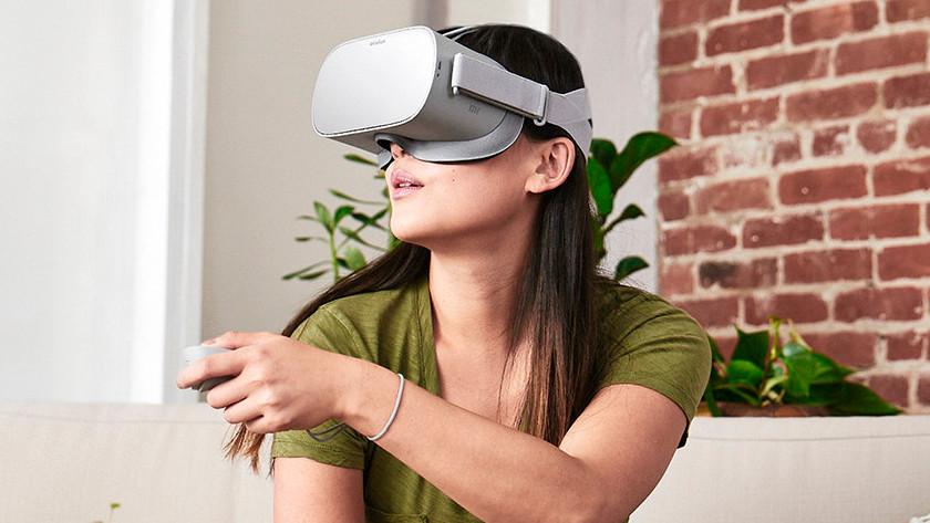 Controller gebruiken VR