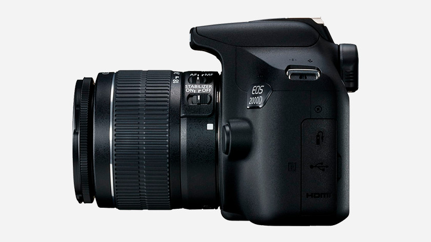 Canon EOS 2000D image quality