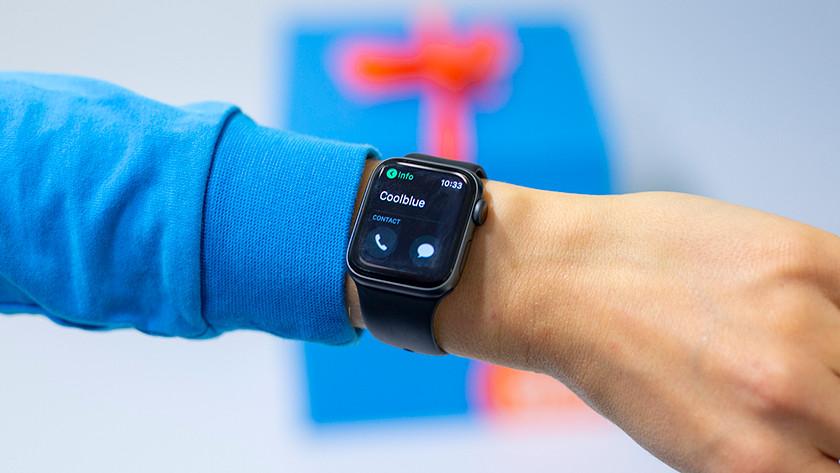 Bellen met Apple Watch Series 4
