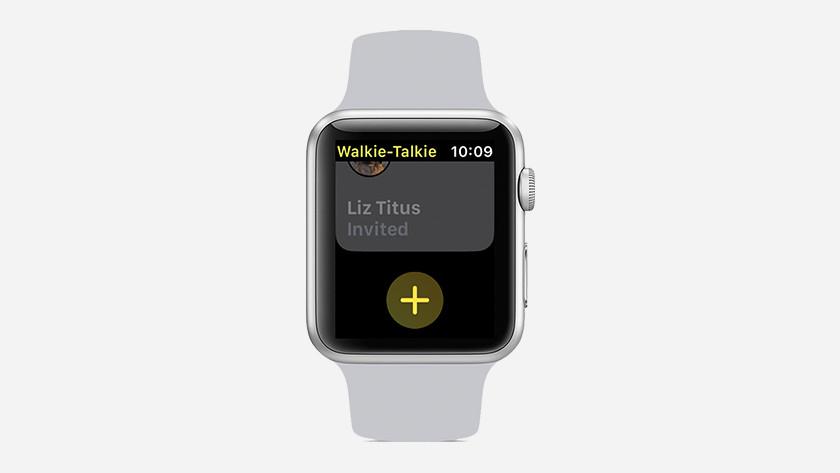 Ajouter un ami dans l'application talkie-walkie