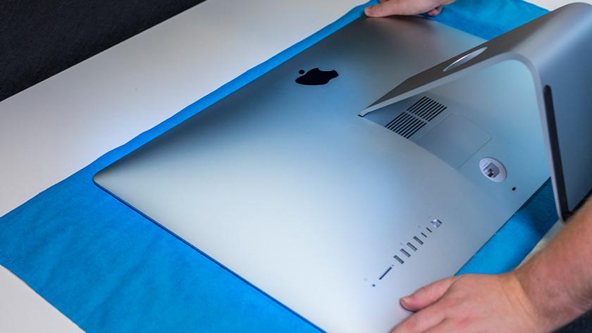 Apple iMac op doek