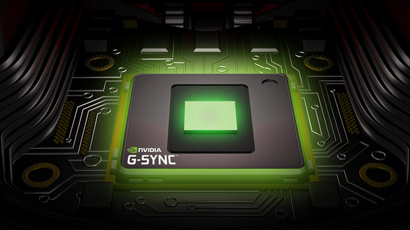 G-Sync technology by NVIDIA.