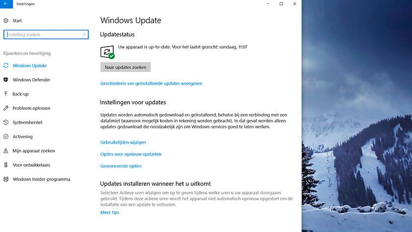 Updates controleren in Windows