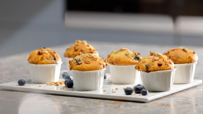 Muffins uit oven