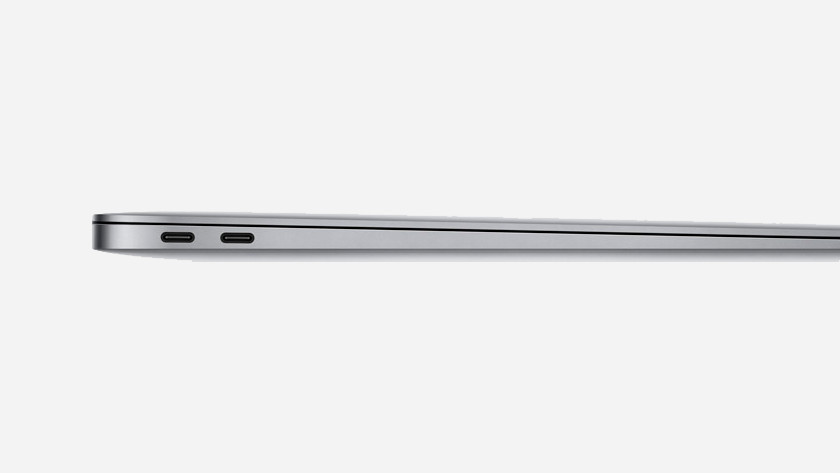MacBook Air 2018 aansluitingen