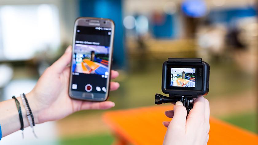Verbinden met GoPro Capture app