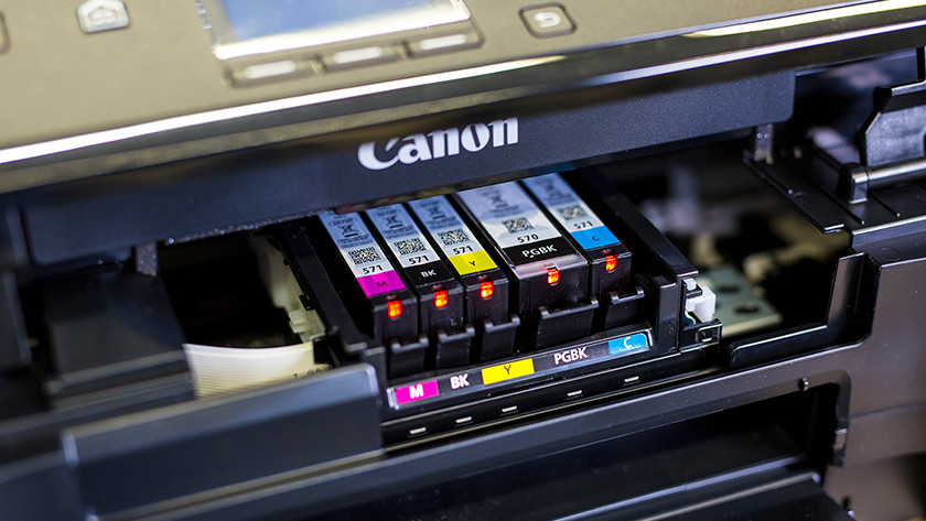 5 Canon cartridges