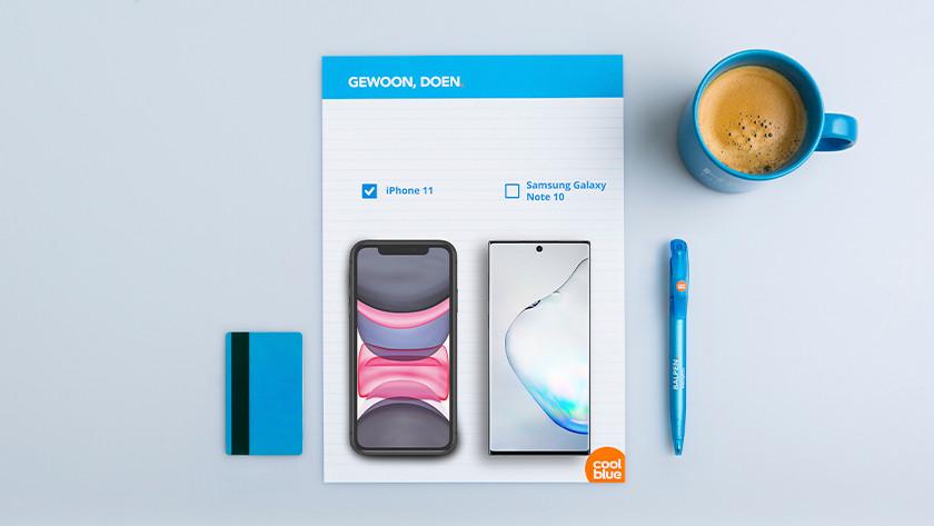grote smartphone