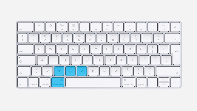 Klávesové zkratky Apple MacBook