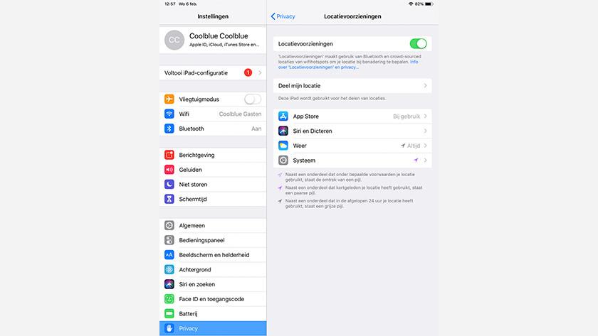 Gestion des services de localisation iOS