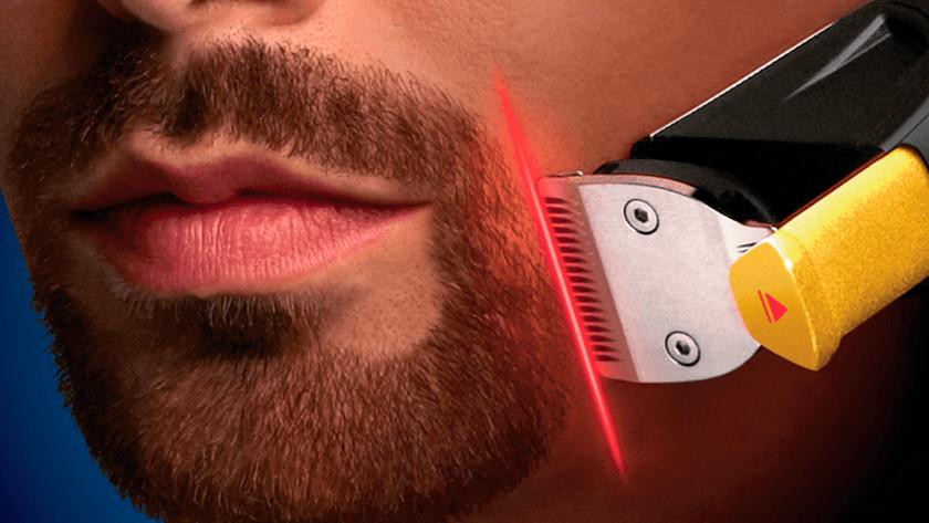Tondeuse à barbe Philips avec guidage laser