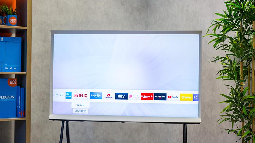 Samsung Smart Hub menu aanpassen