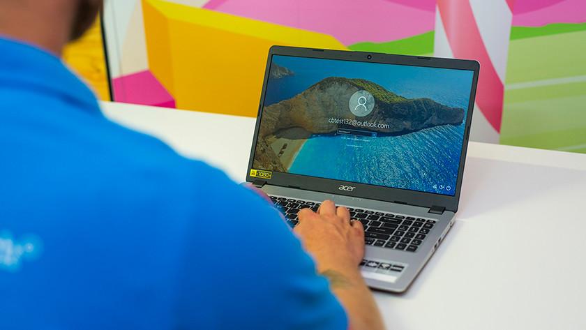 Inloggen Acer Aspire 5