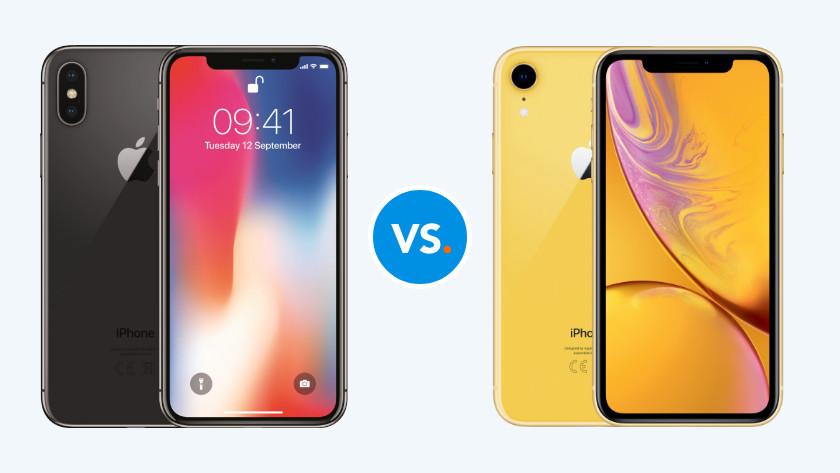 iPhone vergelijken