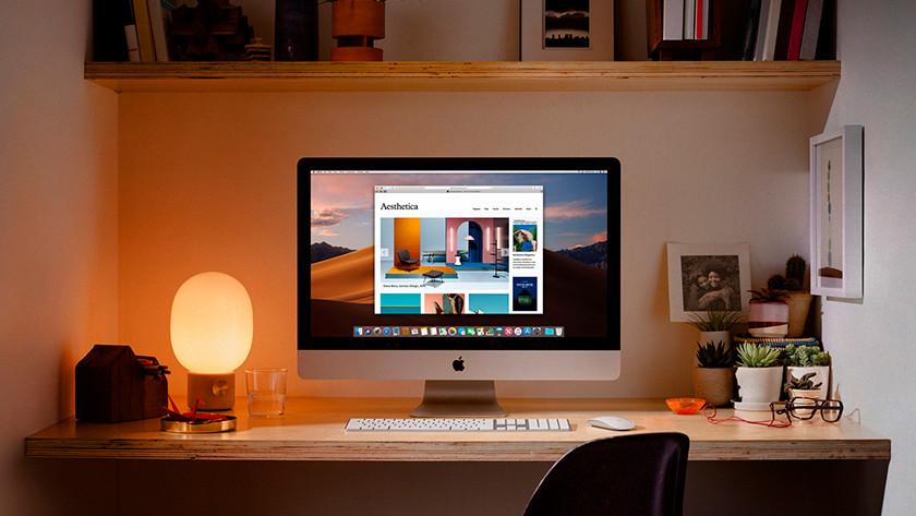 Apple iMac 21,5 inch opslagcapaciteit