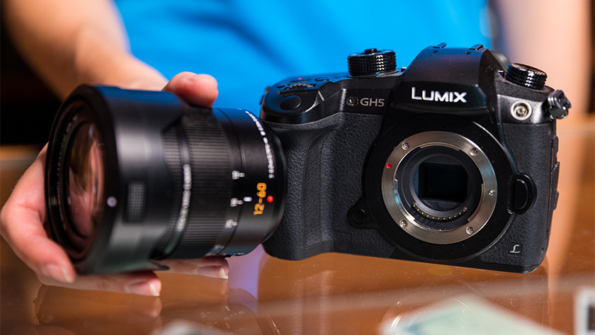 Panasonic systeemcamera's