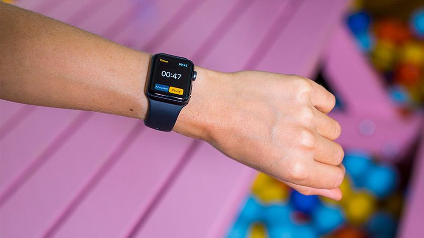 Timer op Apple Watch