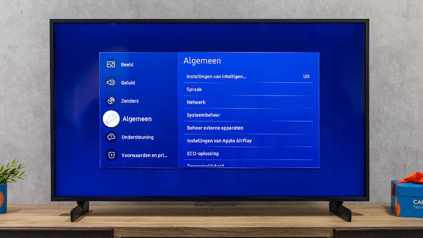 Samsung algemeen menu