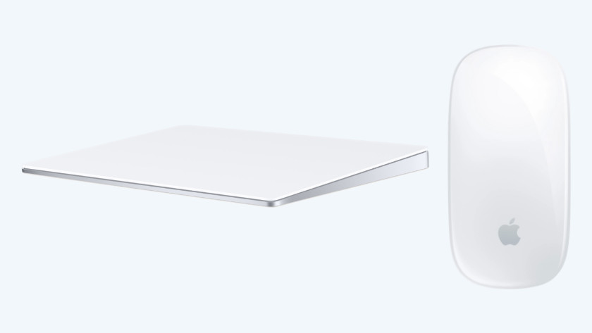 Apple Magic Mouse en Magic Trackpad