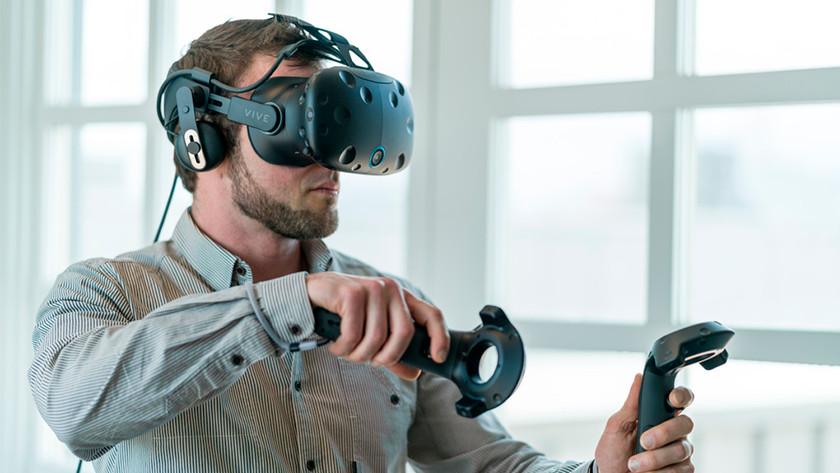 VR in gebruik