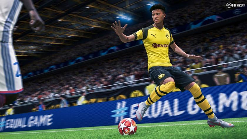 FIFA 20 spelen