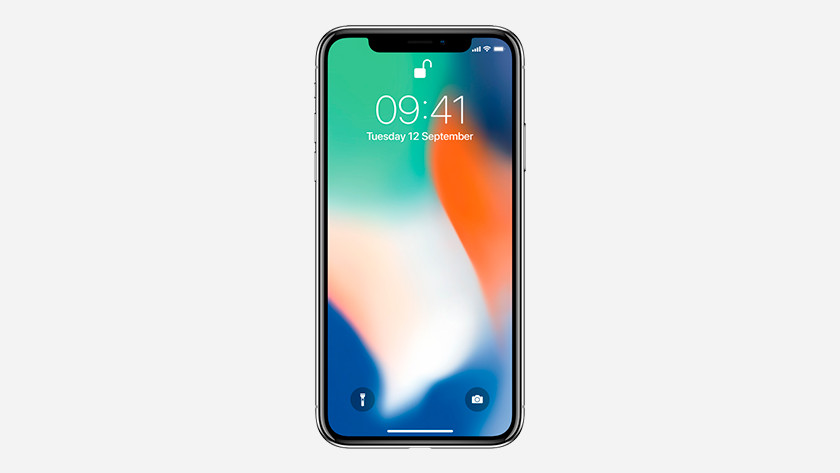 Design de l'iPhone X