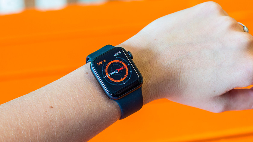 Apple Watch Series 5 ingebouwd kompas