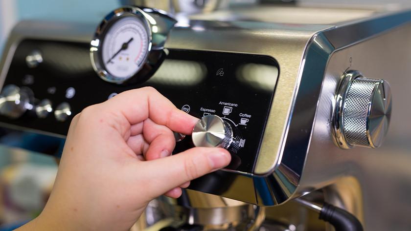 Knopje voor koffiesoorten