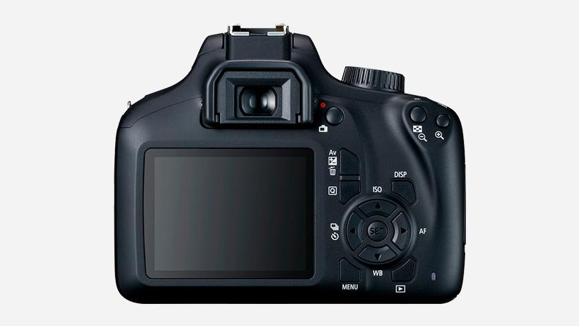 Gebruiksvriendelijkheid Canon EOS 4000D