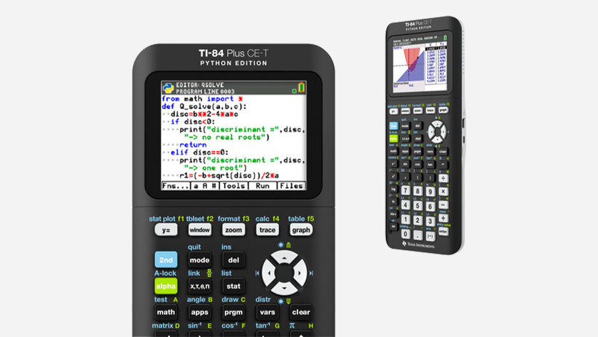 Apps bij rekenmachines