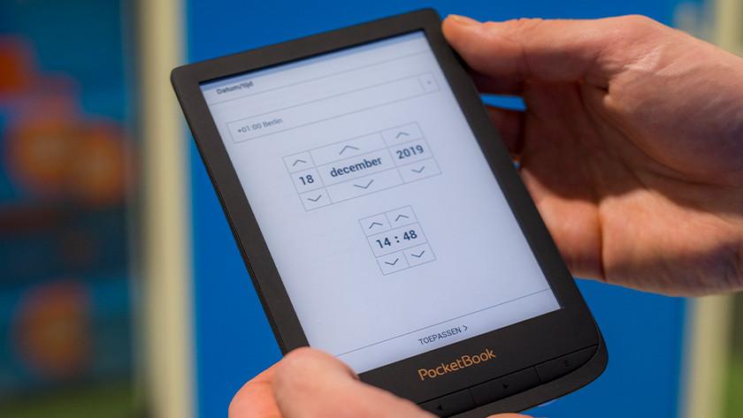 E-reader instellen