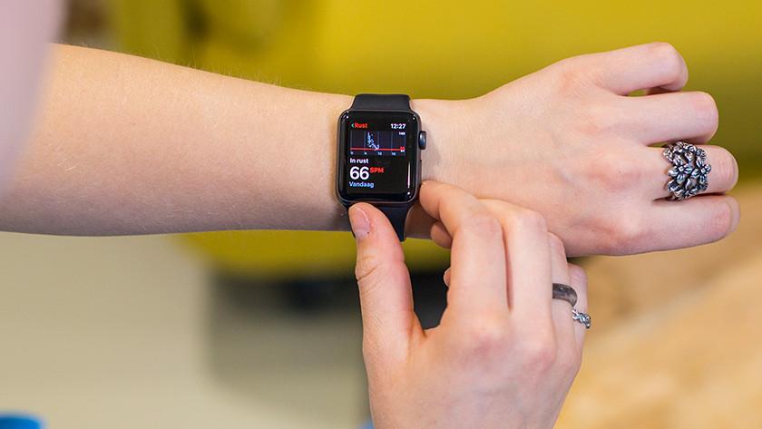 Hartslagfuncties Apple Watch Series 3