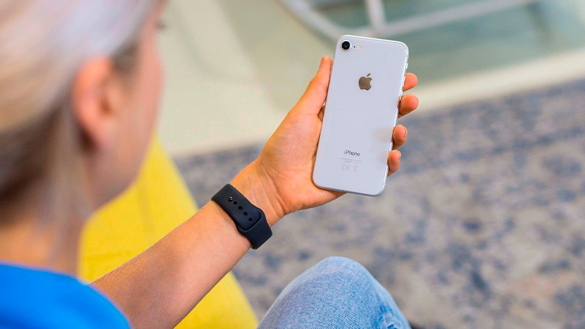 iPhone 8 achterkant