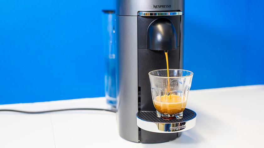 Koffie zetten met de Nespresso Vertuo