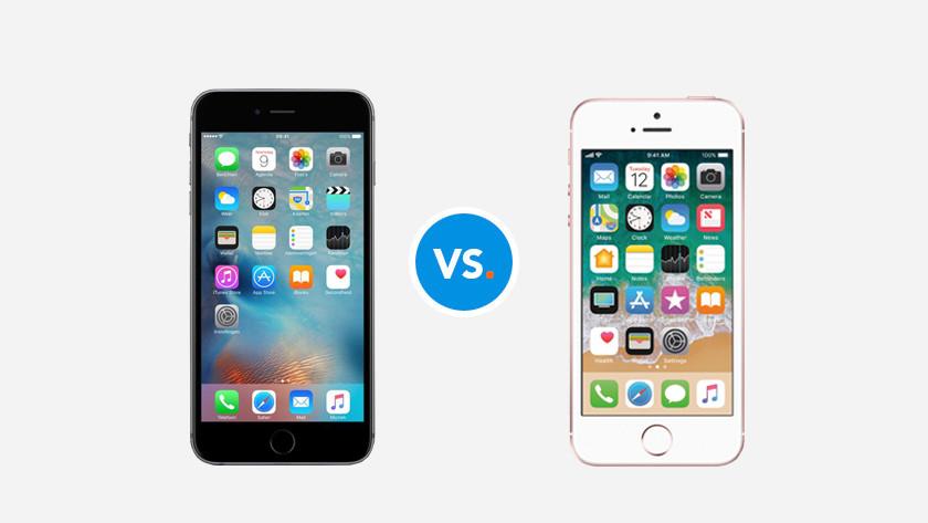 Compare iPhones