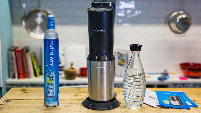 Included with the SodaStream Crystal