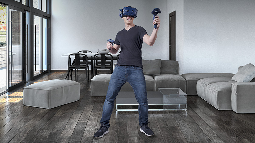 Vive Pro Roomscale experience