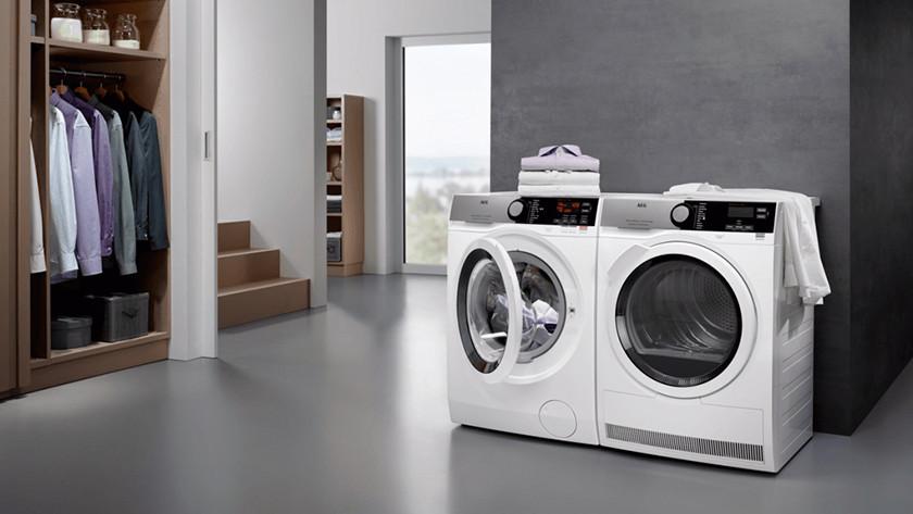 AEG washing machine start delay