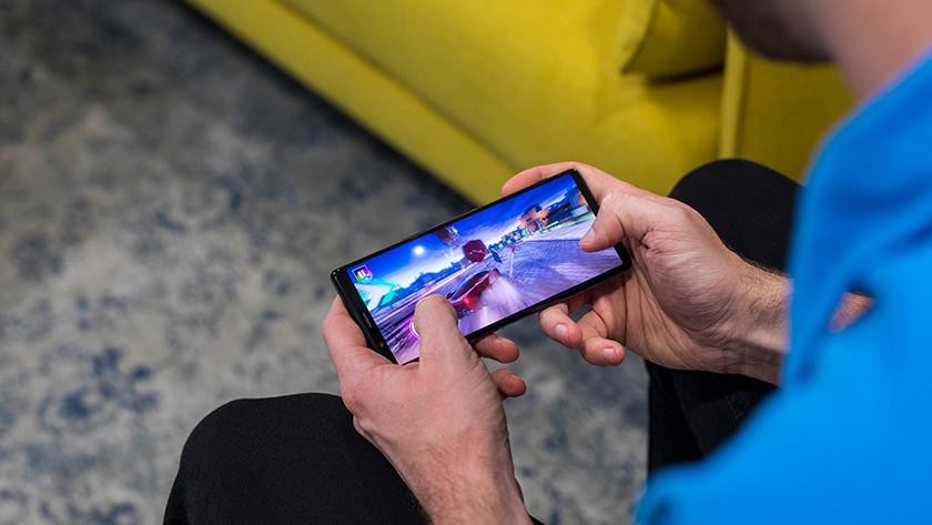 Gamen op Sony Xperia 5